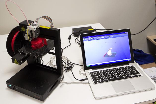 Las impresoras 3D entran en conflicto con el copyright.