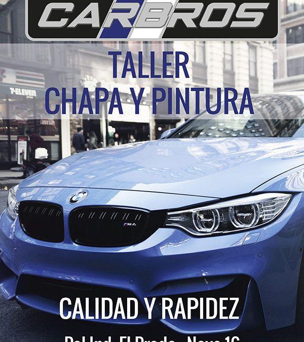Carteles diseñados para Car Bros #Taller #CarBros #Madrid