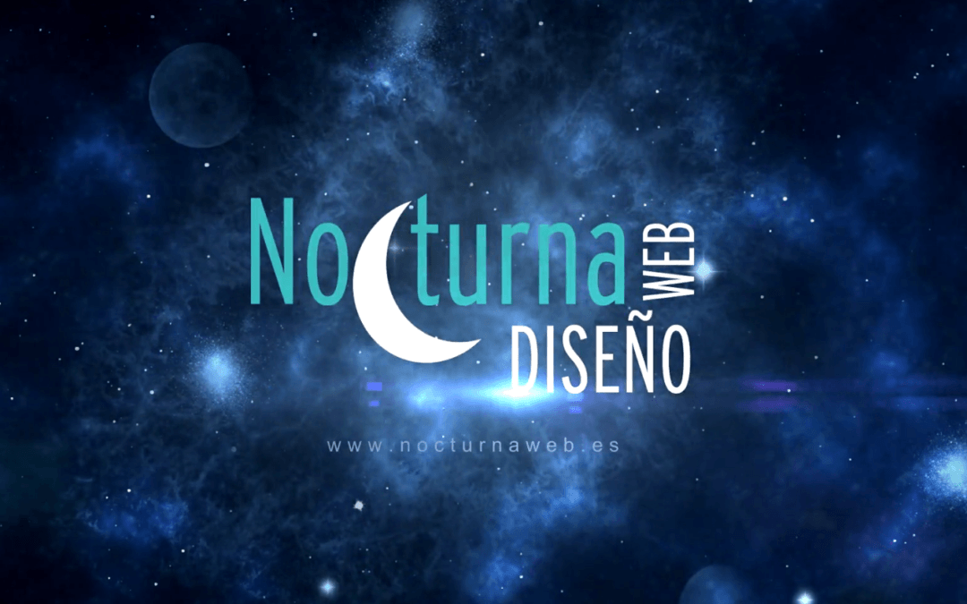 Vídeo de Nocturna Diseño Web presentación espacial