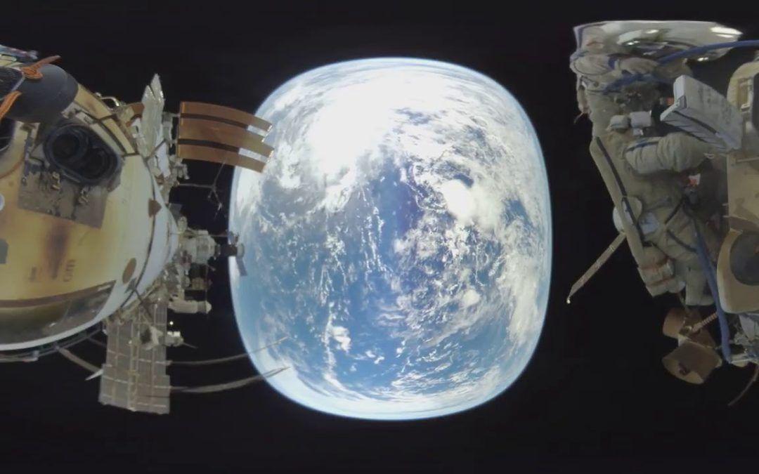 Paseo espacial en 360º