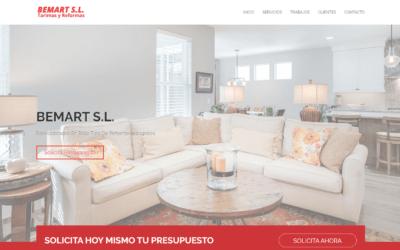 Proceso de Desarrollo Página web One Page para Cliente Empresa de Reformas Madrid