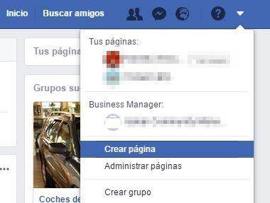 facebook cuenta fanpage