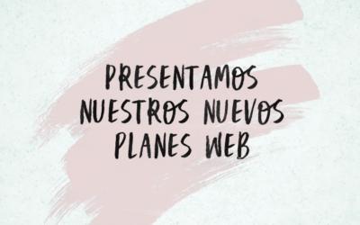 Nuevos Planes web y servicios