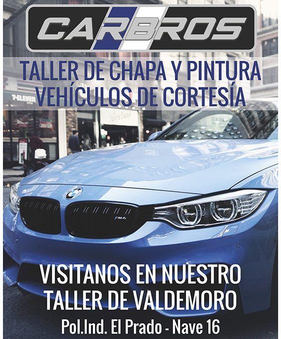 Diseño gráfico Carteles Publicitarios para Taller Car Bros