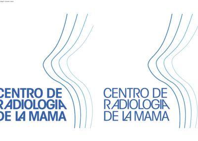 Diseño y reconstrucción desde cero de nuevo Logotipo para «Centro de Radiología de la Mama»
