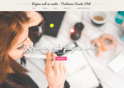 Diseño Web para empresa, WEB EN VENTA