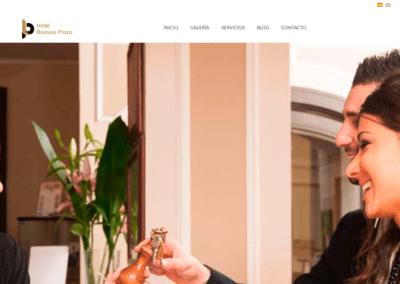 Diseño Página Web Hotel Barajas Plaza y Plataforma de Reservas
