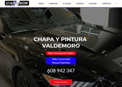 Diseño Página Web para Taller Car Bros en Valdemoro, Madrid