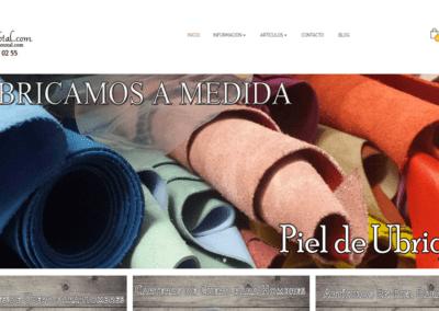 Tienda Online creada con Prestashop para «Artesano Total» de Ubrique, Cádiz.