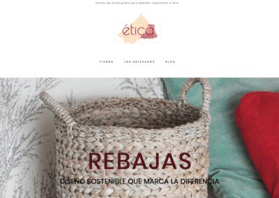 Modificaciones Tienda online Woocommerce Etica Market