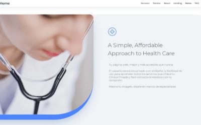 Diseño de página web y Creación de marca para Clínicas Privadas