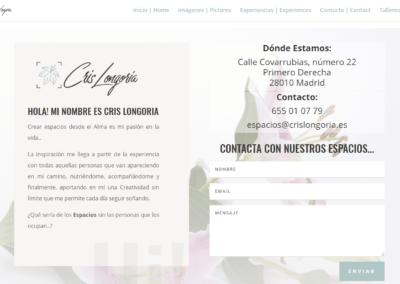 Diseño web en Madrid para Marca de Oficinas y espacios Orgánicos de alquiler
