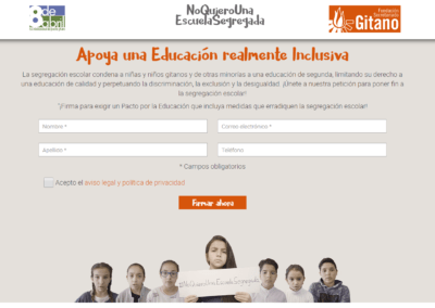 Diseño web en Madrid para la organización Implicate SL