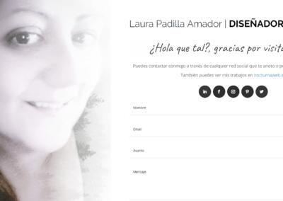Nuevo Proyecto de diseño web Personal para mi propia historia en el mundo Laboral