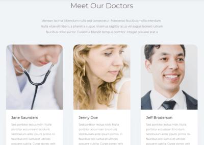 web y logotipo para clinica madrid