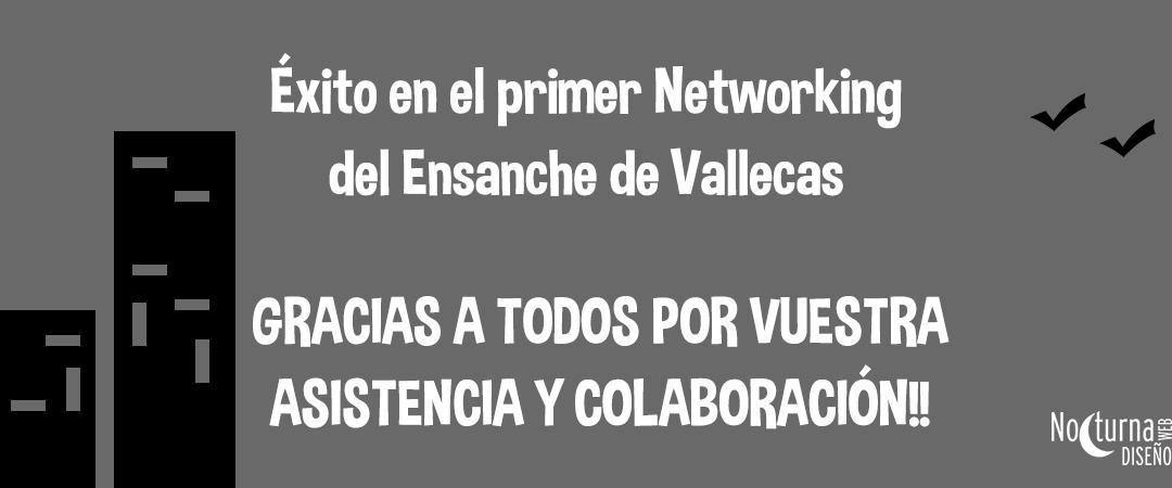 Éxito en el primer Networking realizado en el Ensanche de Vallecas