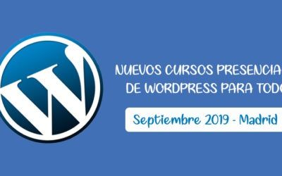 Vuelta al Cole con WordPress