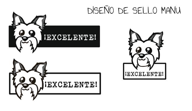 Creación Ilustrada de sello para Profesora