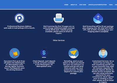 Nuevo trabajo de diseño web en WordPress Washington DC